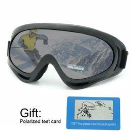 gafas de sol anti niebla Rebajas Gafas de esquí polarizadas Gafas de esquí de snowboard Gafas de sol Anti-vaho Lente esférica ancha para PC Lentes de skate Gafas de nieve anti-UV hombres mujeres