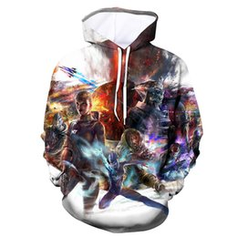 mass effect hoodie Promo Codes - 2019 NEW Hip hop Hoodie Matching Hoodies For Couples mass effect unisex Long- sleeved hoodies Fashion Men Streetwear 3d Hoodie