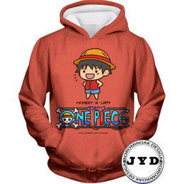 novelty hoodies for men Promo Codes - Hoodies Men 3D One Piece Luffy Sweater Mens Women Hoodies Sweatshirts Family Gift for Kids Sweatshirts Unisex Jumper Couple Tees S-5XL