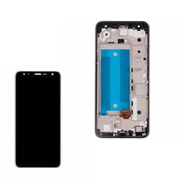 affichage 5.7 Promotion Assemblée d'écran d'affichage à cristaux liquides de 5,7 pouces pour les pièces de rechange de LG X4 2019 K40 K12 Plus LMX420EMW noires