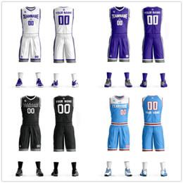 Canada Personnalisé en gros Mens jeunesse enfants concevoir votre équipe Nom Numéro Basketball Uniform Jersey personnalisé Jersey Jersey College Basketball Ensembles cheap wholesale uniforms Offre