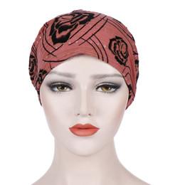 Химическая шапочка онлайн-Women Printing Cancer Chemo Hat Summer Beanies Stretchy Beanie Scarf Cancer Chemotherapy Chemo Beanies Cap A426