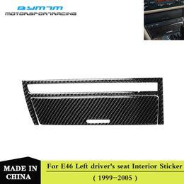 2019 vw handle fibra de carbono interior Car isqueiro quadro da etiqueta para o BMW Série 3 E46