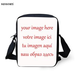 2019 изображения Coloranimal пользовательские сумка ваше изображение ЗДЕСЬ Сумка 3D аниме печати женщины мужчины дети мини Cross-body Case школа скидка изображения