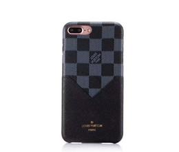 2019 enchufe máximo Lujo Fashion Show Leather para iPhone X XS Max XR 8 Plus Proteger Shell Plug Card Metal Tag Caja del teléfono móvil Contraportada para iphone 6 6S 7 plus rebajas enchufe máximo