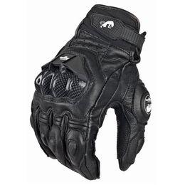 2019 спортивные перчатки девушки Мужские кожаные перчатки Furygan AFS 6 для мотоциклистов Черные мотоциклетные перчатки Велосипедные велосипедные мотоциклетные перчатки для женщин