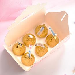 20pcs / pack Boîte De Bonbons Décorations De Table Emballage Cadeau Cadeau De Mariage Européen Faveurs De Nuptiale Douche Papier D'emballage Pliable Mignon ? partir de fabricateur