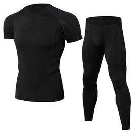 Canada T-shirt de fitness élastique pour hommes T-shirt de fitness élastique pour hommes à séchage rapide Tops longs pantalons supplier elastic top pants Offre