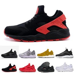 promo code 75d99 bb835 2018 Cheap Air Huarache 1 II Ultra Classical all White And Black Huaraches  Shoes Men Women Sneakers casual Shoes Size 36-45 online for sale huarache  ultra ...