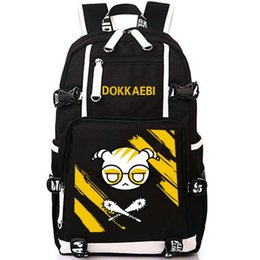 947a8e2d9fd6 wolf backpacks 2019 - Dokkaebi backpack Rainbow six 6 school bag Wolf fangs  mace daypack game