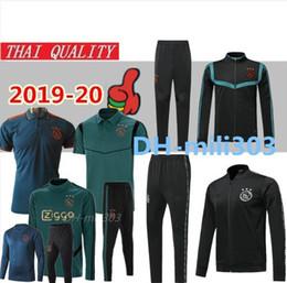 uv sportkleidung Rabatt 2019 2020 Ajax Fußball Trikots Jacke Trainingsanzug Chandal Holland Survetement 19 20 Ajax Fußball Jacke Training Niederlande Sportswear Set
