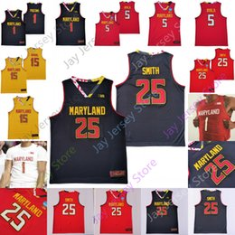 Wiggins jersey on-line-Personalizado Maryland Basketball Jersey Faculdade Anthony Cowan Jr. Jalen Smith Eric Ayala Chol Marial Aaron Wiggins Darryl Morsell Makhel Mitchell