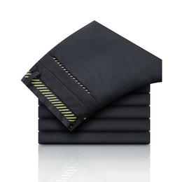 2019 серые формальные брюки Classic Dress Pants Men Formal Business Wedding Grey Suit Pants Casual Slim Korean fashion casual Fit Male Cotton Trousers дешево серые формальные брюки
