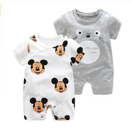 cb8577a5a9e48 25 styles baby romper 100% cotton unisex jumpsuit baby boys girls short  sleeve summer cartoon toddler cute kids designer clothes FJ149