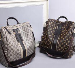 Объединенные рюкзаки онлайн-Европа / США новый универсальный рюкзак женская сумка Корейская версия моды сумка через плечо