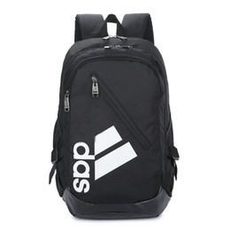 black yellow sports backpack Promo Codes - Designer- Hot Selling Fashion Tide Bookbag Men Women Luxury Backpack Oxford Outdoor Sport Backpacks Zipper Brand Strings Printed Bags