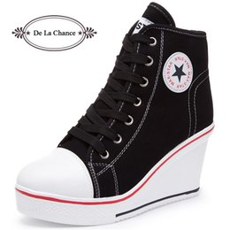 Wedge High Heeled Sneakers Australia