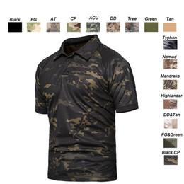 Deutschland Waldjagd im Freien Schießen Hemd Schlacht Kleid Uniform Tactical BDU Armee Kampf Mantel Quick Dry Camouflage T-Shirt SO05-108 Versorgung