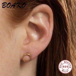 Minimalistische Ohrringe Sternhalbmond Anhänger Eardrop Dangle Modeschmuck