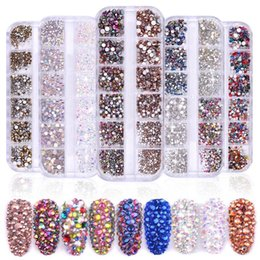2019 perle hotfix Fashion New DIY Home Flatback Nail Art Strass Nail Art Zubehör New Fashion DIY Nail Art Strass