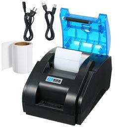 Impresora adhesiva adhesiva online-Impresora Bluetooth Código QR Etiqueta Código de barras Recibo térmico Adhesivo Ropa Etiquetas Impresoras de etiquetas para Bill Machine Tienda Tienda Supermercado