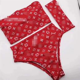 2019 blumenanzugentwurf Conjoined Und Split Art Badeanzug 2 Stil Blumendruck Sexy Sandstrand Hot Girl Bikini Marke Design Badeanzug rabatt blumenanzugentwurf