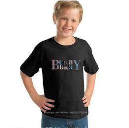 Chaqueta coreano lindo online-Children Short Sleeve T cute T-shirt Baby Jacket Korean Edition Boys Pure Cotton 2019 New Pattern Pink Children's Clothes 0317