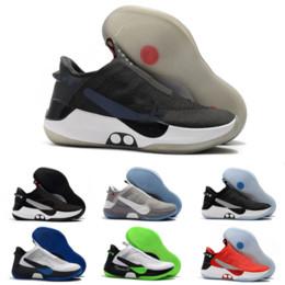Sapatas cinzentas do corte alto on-line-2019 Novo Mens Designer Adaptar Sapatos de Basquete BB de Alta Qualidade Rendas Motor Cinza Escuro Cinza Preto Moda Mosca de Malha de Luxo Tênis Tamanho 40-46