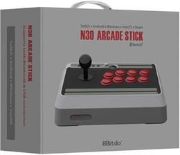 аркадный бой Скидка 8Bitdo N30 Arcade Stick / Fight Stick для коммутатора, ПК, Mac Android