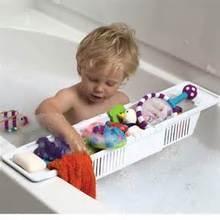 giocattolo del vassoio Sconti Vaschetta estensibile Vassoio per il carico dell'acqua Giochi per il bagno Cestino per il bagno degli articoli da toilette Sopra la vasca Organizer Book Shelf Bathtub Ripiani Vassoio per i letti
