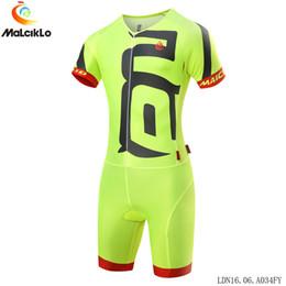 Maglia da ciclismo Malciklo Pro Men Design divertente Team Triathlon Skinsuit Ropa De Ciclismo Maillot da