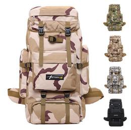 41c24bdf239af 2019 70l backpack Wandern Camping Tasche Armee Militärische Taktische Trekking  Rucksack Outdoor Sports Camouflage Bag Military