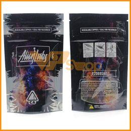 Bolsas de embalaje de galletas online-Las bolsas más nuevas de Alien Labs con cierre hermético Sella la bolsa para la frescura Flores a prueba de niños Galletas de embalaje Conectado Stoney Patch