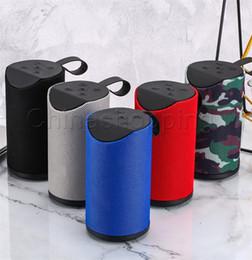 coole lautsprecher für telefone Rabatt Bluetooth Subwoofer-Lautsprecher Drahtlose Bluetooth Deep Subwoofer-Stereo-Lautsprecher mit Retail-Box