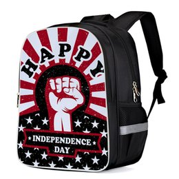 2019 bolsa de la computadora Bandera de EE. UU. Independent Day Mochilas universitarias Mochila para computadora Mochila para portátil Mochilas de hombro de trabajo Mochilas escolares Satchel bolsa de la computadora baratos