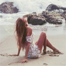 2019 heiße frauen tragen bikini-strand 2019 frauen Solide Lace Short Sleeve Durchsichtig Sommer Beach Beachwear Bademode Bikini Tragen Cover Up Neue Stil Mode heiß günstig heiße frauen tragen bikini-strand