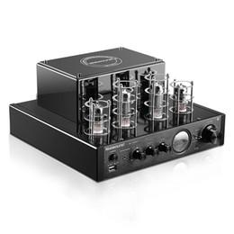 Встроенный звук онлайн-Nobsound MS-10DMKII MP3 HiFi 2.0 Домашнее аудио Bluetooth Вакуумная трубка Встроенный усилитель Вход USB / AUX Усилитель мощности 6P1 * 2 + 6N1 * 2