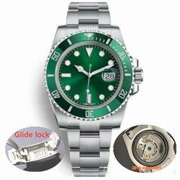 Orologio di Lusso 316L Марка скользящая застежка Sapphire Wristwatch 116610LN из нержавеющей стали 40 мм 2813 Автоматические часы с механизмом движения мужские часы от Поставщики оптовая торговля спортивная сталь