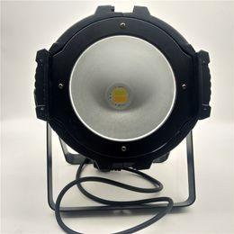 2019 luz verde mini pc Invólucro de alumínio fundido 200W COB LED par luz Alto brilho de dois tons LED efeito de luz lâmpada 200W COB lavagem parede partido festa iluminação de palco