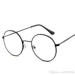 Gläser online-VA50 Steampunk Retro Brille Peeks Eyewear Runde Form Brille Schlank Metallrahmen Ultra Light Circle Freeshipping Dropship Global Countries