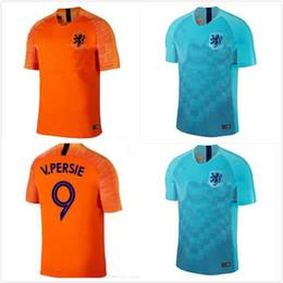 1 thai quality 2018 Holland soccer jersey home orange netherlands national  team JERSEY memphis SNEIJDER 18 19 V.Persie Dutch football shirts 89f300f21