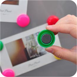 Adesivi magnetici magnetici online-Magneti per frigorifero Magneti per colori creativi Frigorifero Magnetico Adesivo per calendari Lavagna per lavagna Carta da parati Decorazioni in resina