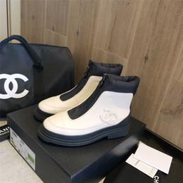 Deutschland a4 Personality Art und Weise beiläufigen wilden Schuhe Herbst und Winter im Freien Reise Stiefel Luxus elegant original Box-Verpackung Zapatos de mujer Versorgung