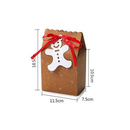 Embalagem fornece cookie caixa on-line-Christmas Gift Bag Candy Box Cookie Box Christmas Boxes and Packaging Gift Bags & Wrapping Supplies Christmas decoration HH9-A2583