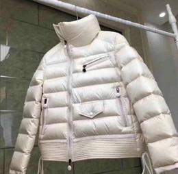 2019 automne et d hiver nouvelles dames col court sens design manteau asymétrique veste en duvet manteau veste chaude en plein air