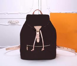 Le donne famose di marca ossidano le borse di scuola del cuoio genuino di alta qualità delle borse di Montsouris delle borse a tracolla A79 Trasporto libero da