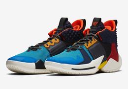 Canada Enfants Russell Westbrook garçons chaussures de basket-ball à vendre pourquoi pas zer02 GS magasin de baskets avec boîte prix de gros livraison gratuite size36-46 Offre