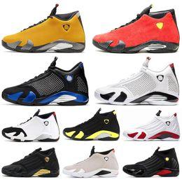 2019 баскетбольные кроссовки размер 14 nike air jordan retro 14 воздуха Иордании ретро 14С 14 баскетбол обувь мужчины спортивная спортивные кроссовки университет Красный тренер на открытом воздухе мужские размер 7-13 дешево баскетбольные кроссовки размер 14