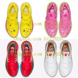 2019 Nouvelle arrivée Mens Kyrie 5 5s V Chaussures de basketball Nickelodeon 20e anniversaire de Sponge Bob x Irving Faible 2 2s De Luxe Baskets Entraîneurs 40-46 ? partir de fabricateur