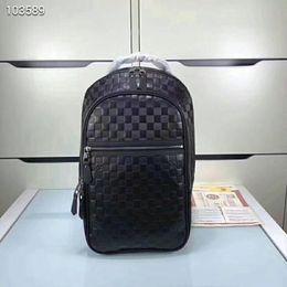 2019 sterne-stil rucksack Top Designer Rucksack Luxusfach Sport Business Rucksack weiche Marke spezielle Leder Größe: 26x49x17 cm N41330